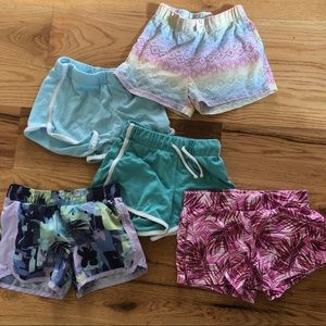 Bundle of girls shorts